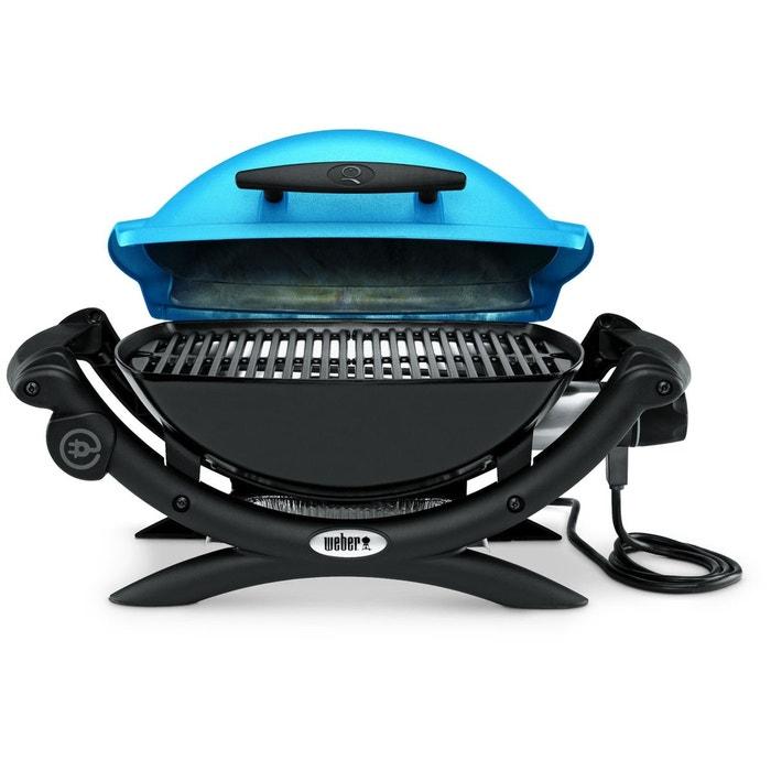barbecue weber q1400 blue bleu weber la redoute. Black Bedroom Furniture Sets. Home Design Ideas