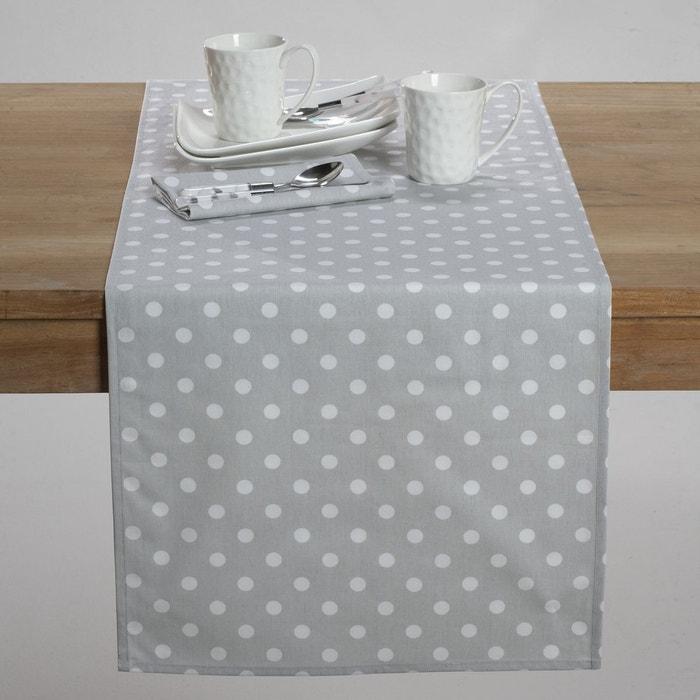 Chemin de table imprim pois garden party la redoute interieurs la redoute - La redoute linge de table ...