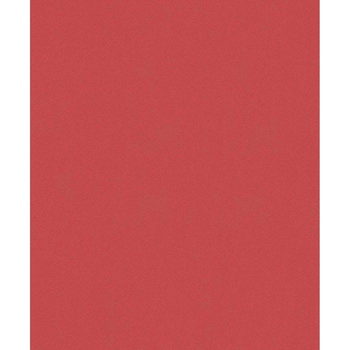 Papier Peint Uni Rouge Andalou Rouge Home Maison La Redoute