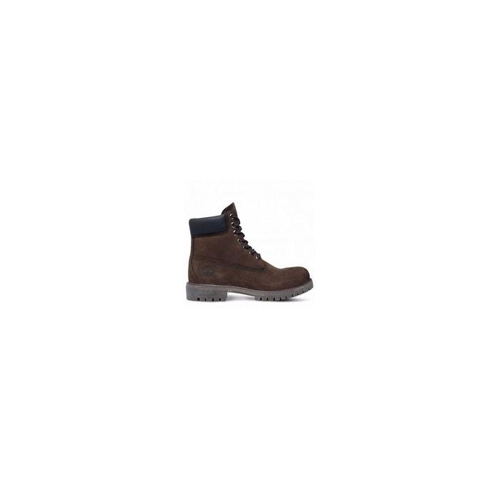 Boots icon 6 inch premium cuir nubuck imperm able cuir for Canape nubuck marron