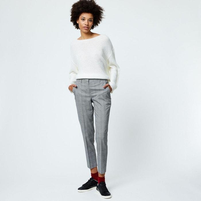 Pantalon plis cassés beige Monoprix   La Redoute d662f9991999