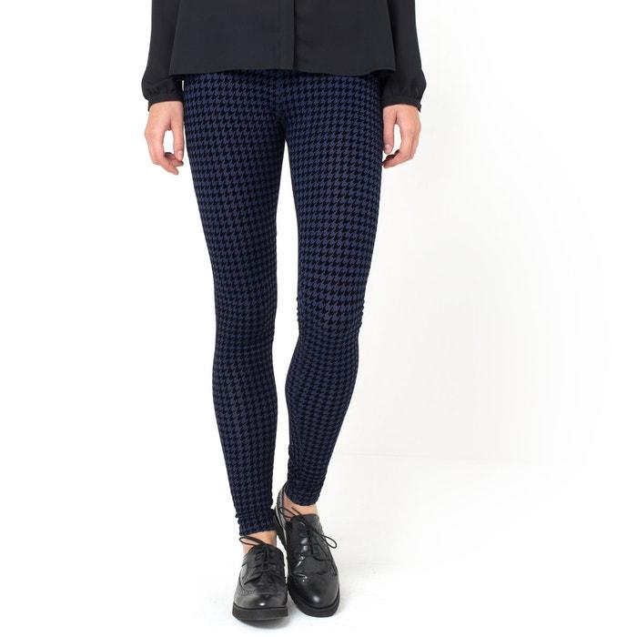 Imagen de Pantalón leggings de punto con estampado de pata de gallo LES PETITS PRIX