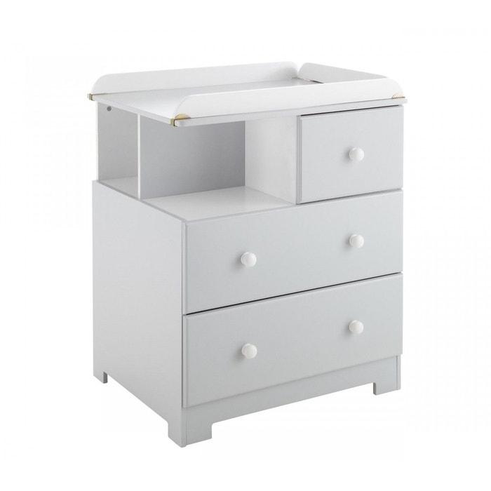 commode b b table langer gris bali domiva gris domiva. Black Bedroom Furniture Sets. Home Design Ideas