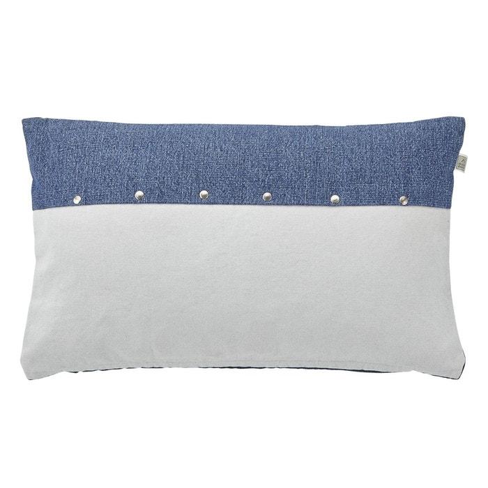 housse de coussin avena bleu dutch decor la redoute. Black Bedroom Furniture Sets. Home Design Ideas