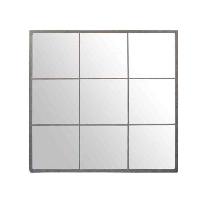 miroir indus carr 100x100 emde premium la redoute. Black Bedroom Furniture Sets. Home Design Ideas