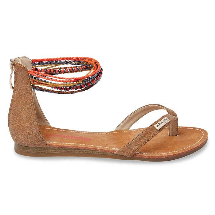 sandales cuir ginkgo les tropeziennes par m belarbi la redoute. Black Bedroom Furniture Sets. Home Design Ideas