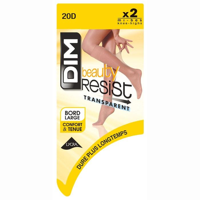afbeelding Kousen, Beauty Resist transparent 20 Deniers DIM