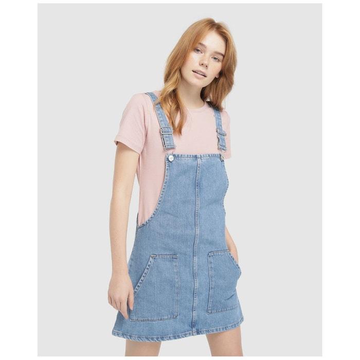 3f7a0745ca1 Robe salopette en jean bleu Easy Wear