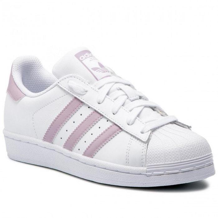 Chaussures adidas superstar w blanc Adidas