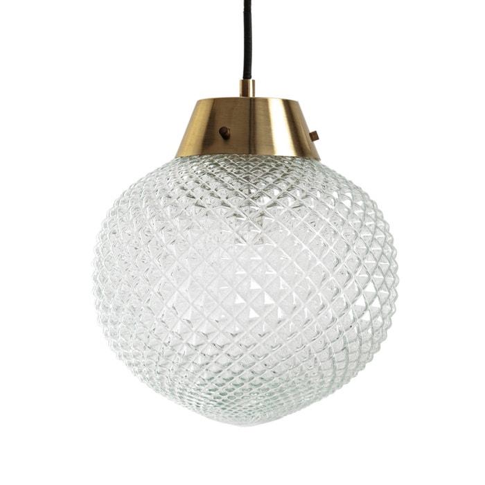 Lampadario vetro e ottone  MAISON PÈRE X LA REDOUTE image 0