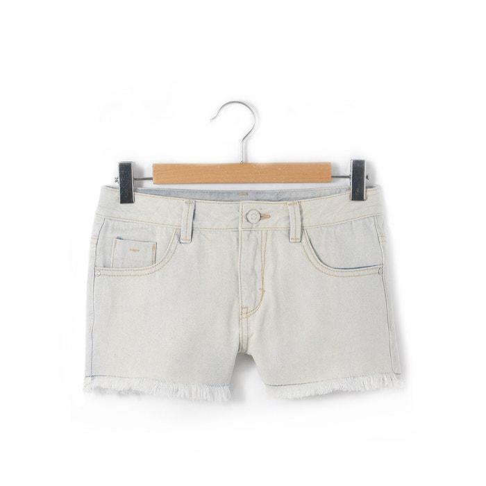 Short 5 poches en jean 10-16 ans La Redoute Collections