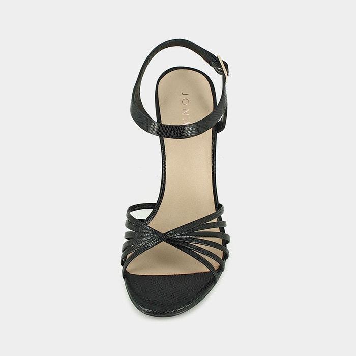 Sandales cuir solange rose Jonak
