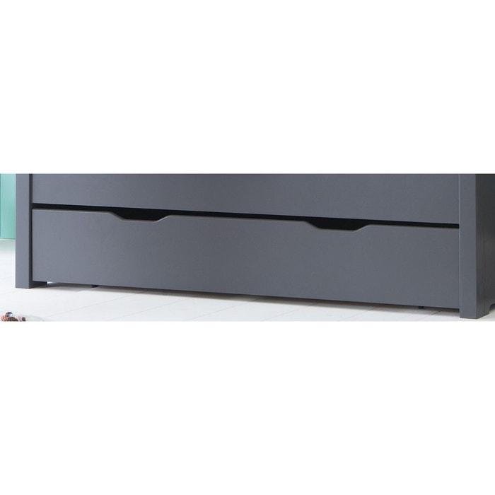 tiroir pour lit volutif 140 h29 anthracite anthracite alfred et compagnie la redoute. Black Bedroom Furniture Sets. Home Design Ideas