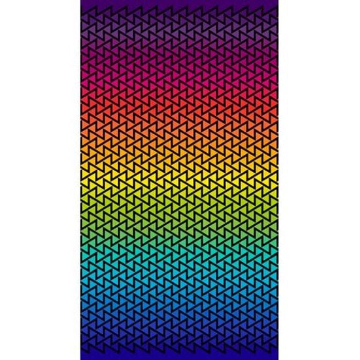 Drap De Plage Geometric Multicolore Lasa Home La Redoute