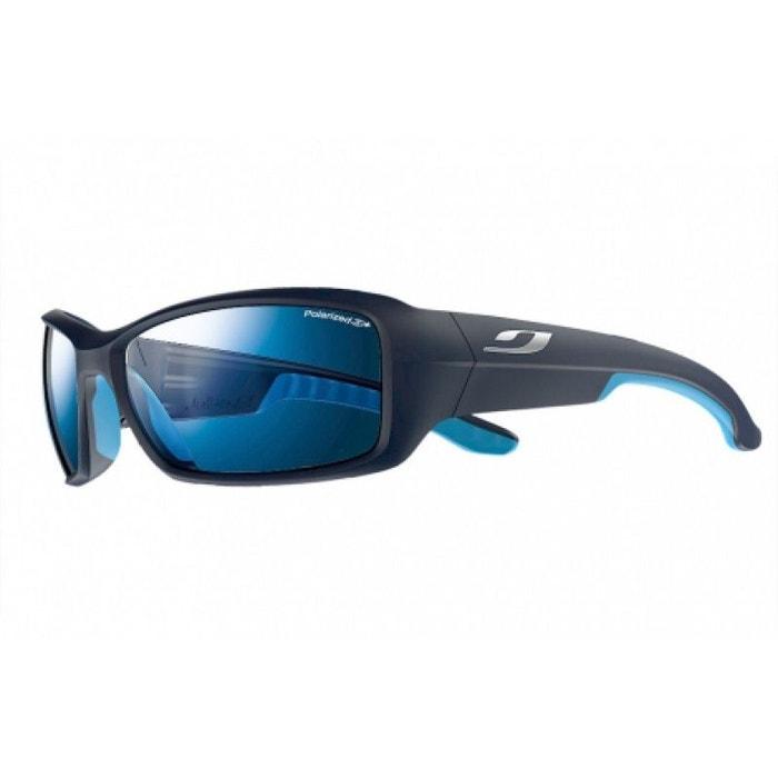 Lunettes de soleil mixte JULBO Bleu Run Bleu mat / Bleu - Polarized 3+ 66/17 1NLLw