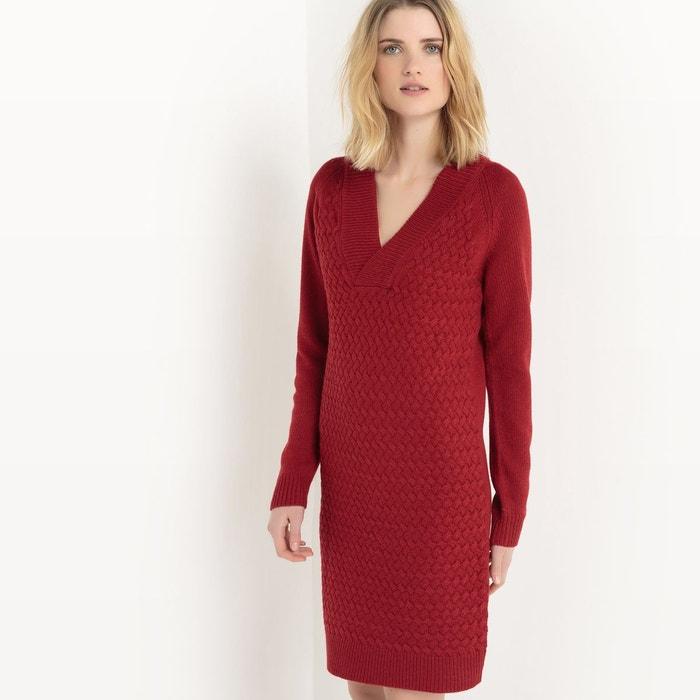 Robe tricot torsade La Redoute Collections   La Redoute 5b719e60899e