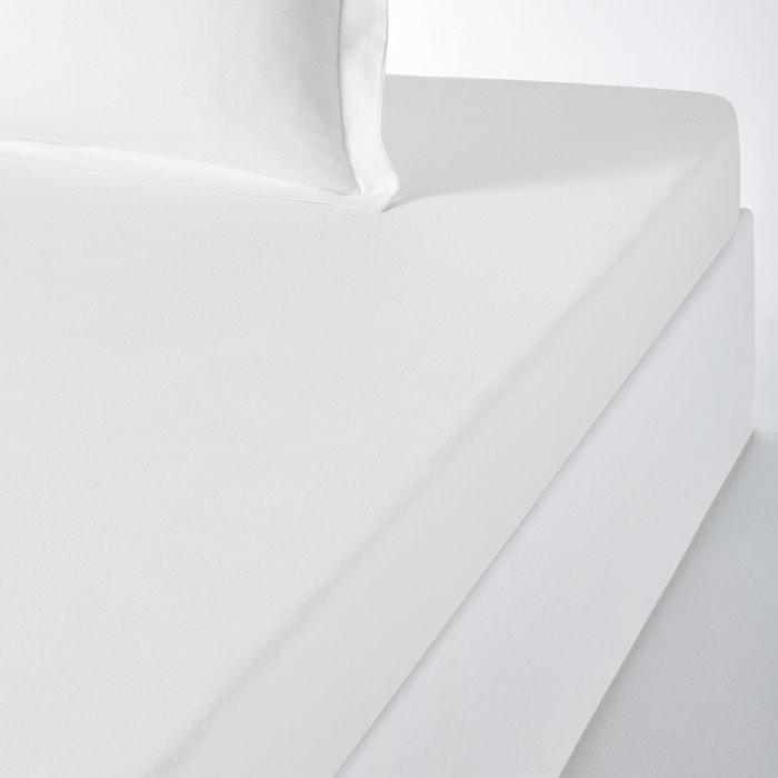 Plain Flannel Fitted Sheet  La Redoute Interieurs image 0