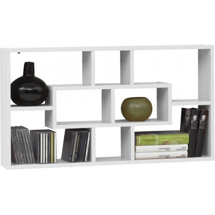 tag re murale 8 cases blanc rico blanc declikdeco la redoute. Black Bedroom Furniture Sets. Home Design Ideas