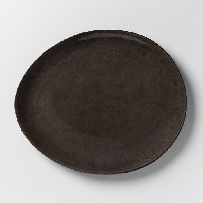 assiette plate pure p naessens serax lot de 2 gris am pm la redoute. Black Bedroom Furniture Sets. Home Design Ideas