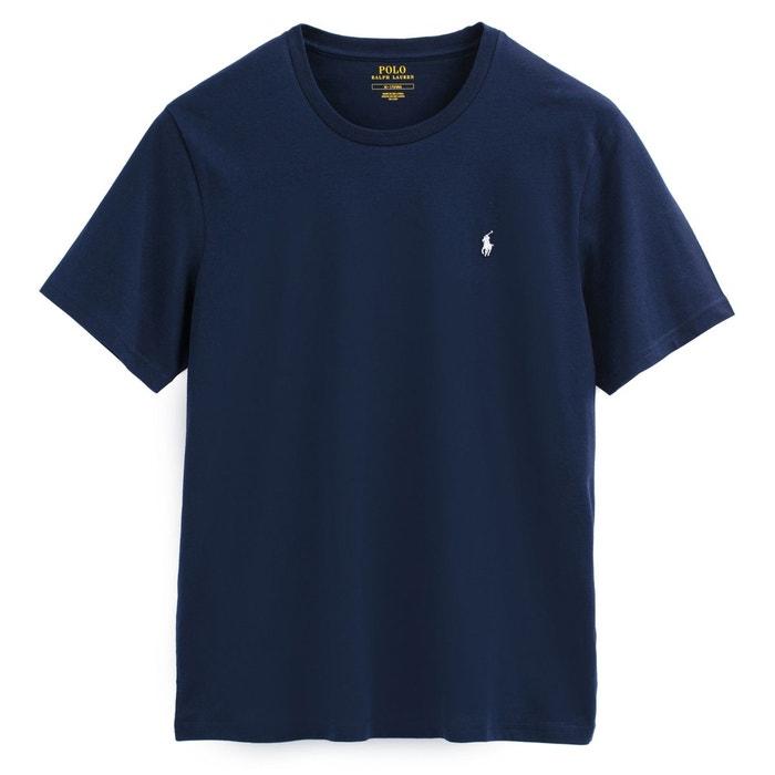 T-shirt col rond imprimé bleu marine Polo Ralph Lauren   La Redoute f16a2384a5e
