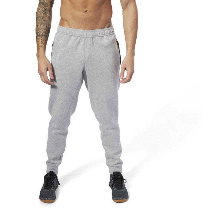Pantalon de jogging reebok crossfit double knit gris Reebok Sport ... 0580ce07d1f