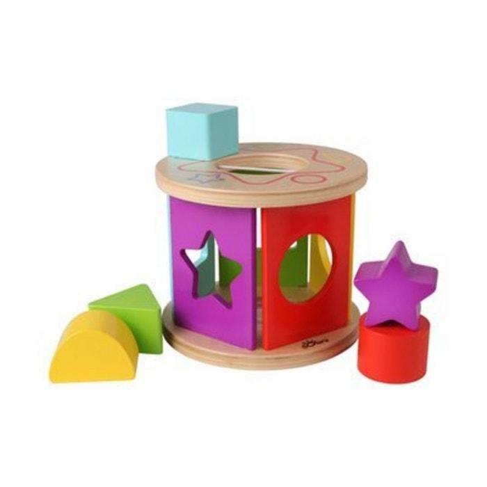 solini la bo te formes couleurs formes jouet en bois multicolore solini la redoute. Black Bedroom Furniture Sets. Home Design Ideas