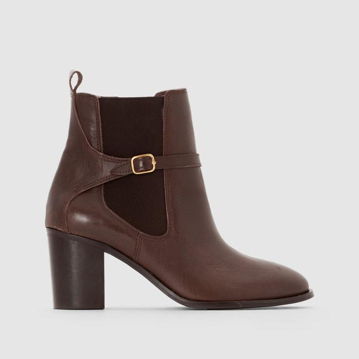 Image Boots in pelle vacchetta ANNE WEYBURN