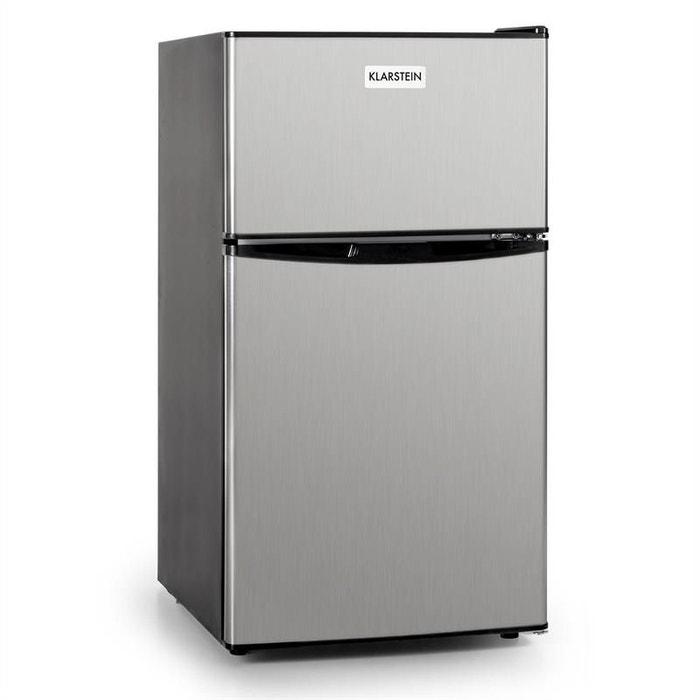 big daddy cool frigo 80l classe a acier noir autre. Black Bedroom Furniture Sets. Home Design Ideas
