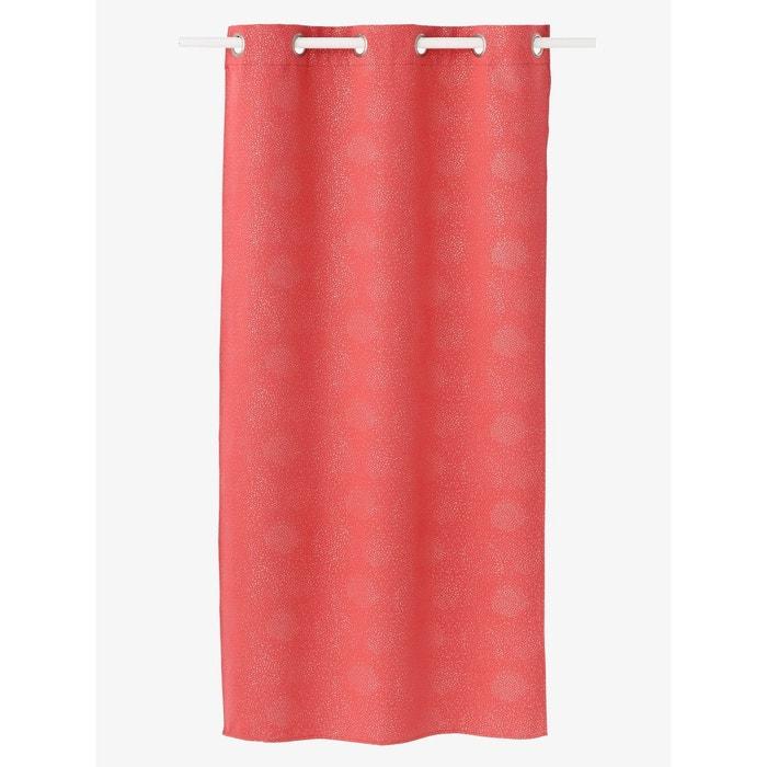 rideau occultant paillettes rose fonc uni vertbaudet. Black Bedroom Furniture Sets. Home Design Ideas