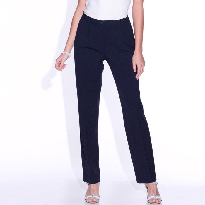 Image Pantalon sergé bi-extensible, entrej. 78 cm ANNE WEYBURN