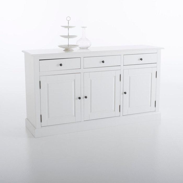 Buffet, 3 portes 3 tiroirs, Authentic Style La Redoute Interieurs