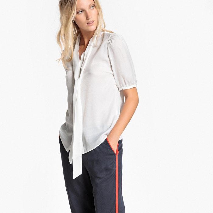 Image Camicetta con collo a polo, camicia tinta unita, maniche corte VILA
