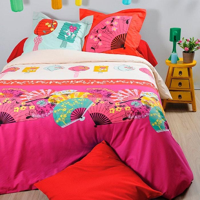 parure de lit lampion 240 x 220 cm storex la redoute. Black Bedroom Furniture Sets. Home Design Ideas