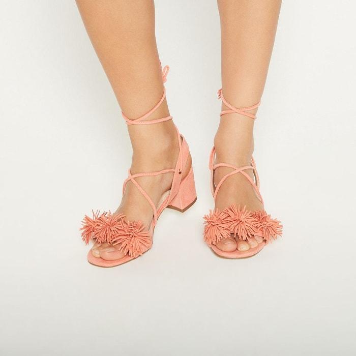 Monoprix Heel Sandals With Tassels
