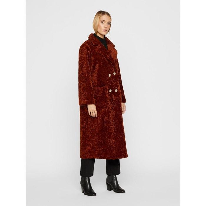 rechercher l'original vente usa en ligne meilleurs tissus Manteau Long imitation peau de mouton