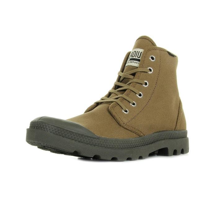 Boots homme pampa high original butternut  kaki/noir Palladium  La Redoute