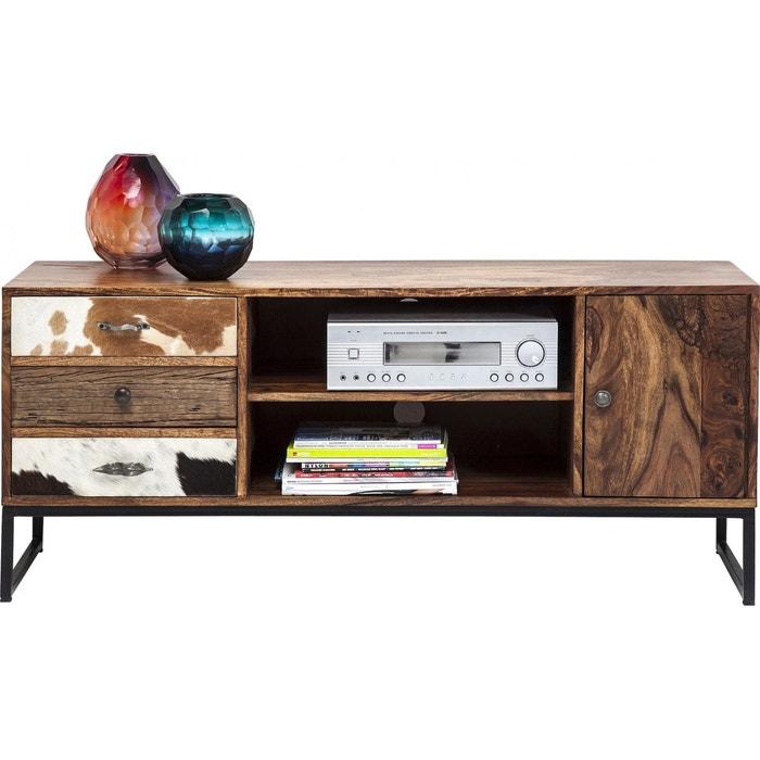 Meuble tv en bois rod o kare design couleur unique kare design la redoute - Meuble kare design ...