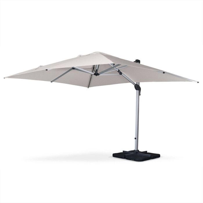 parasol d port haut de gamme rectangulaire 3x4m pyla. Black Bedroom Furniture Sets. Home Design Ideas