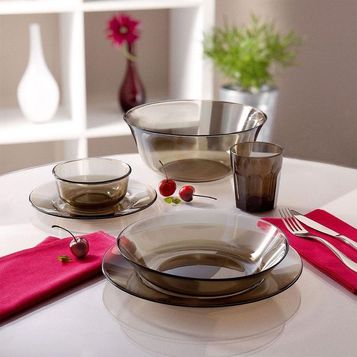 Service de vaisselle 20 pieces table directoire eclipse couleur unique lumina - La redoute vaisselle ...