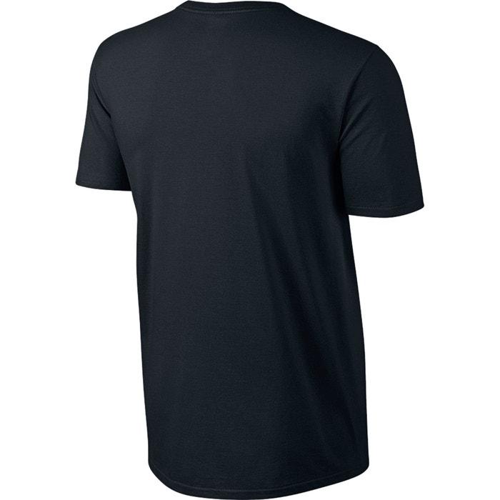 con redondo motivo y NIKE Camiseta estampado cuello delante 65Tfqg