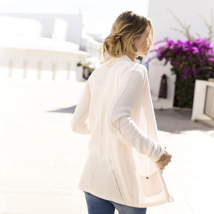 Cotton Mix V-Neck Cardigan  ANNE WEYBURN image 0