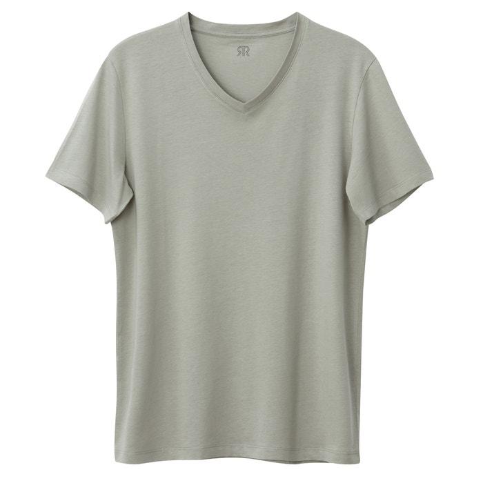 Camiseta pico Collections Oeko cuello de La Tex con Redoute qEOPvP