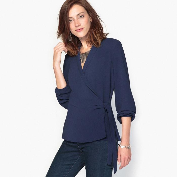 afbeelding Fantasie blouse, cache-cœur model ANNE WEYBURN