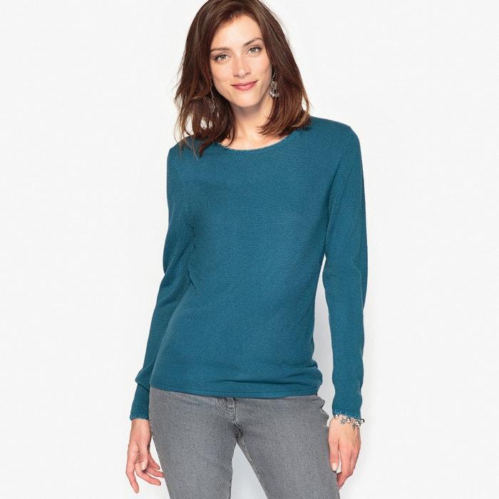 Пуловер из ткани, напоминающей на ощупь кашемир, отделка бусинами  ANNE WEYBURN image 0