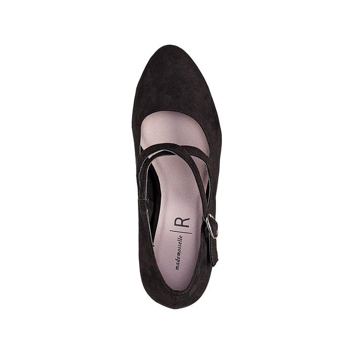 Escarpins talon paillettes noir Mademoiselle R