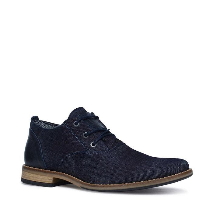 Chaussures à lacets avec motif  bleu foncé Sacha  La Redoute