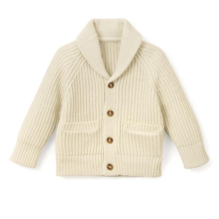 Buttoned shawl collar cardigan 348fa5cbe