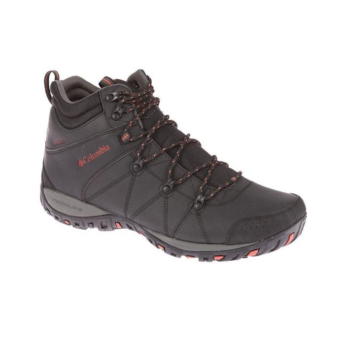 Peakfreak venture - chaussures homme - mid wp omni-heat noir  noir Columbia  La Redoute