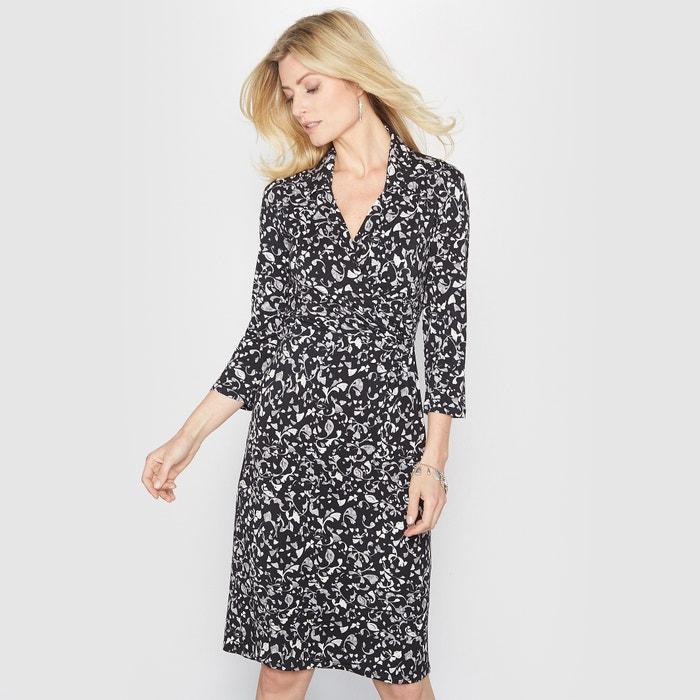 Image Bedrukte jurk in soepel tricot ANNE WEYBURN