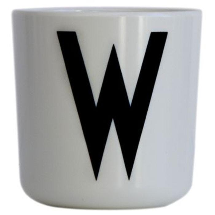 tasse melamine cup design letters couleur unique design. Black Bedroom Furniture Sets. Home Design Ideas